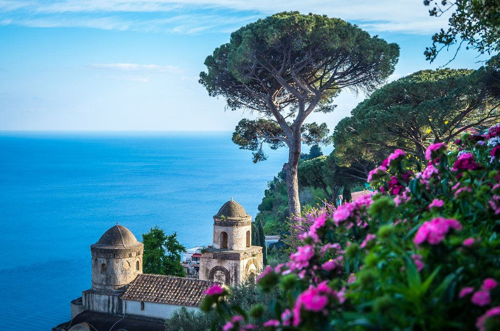 The view from Villa Rufolo, Ravello
