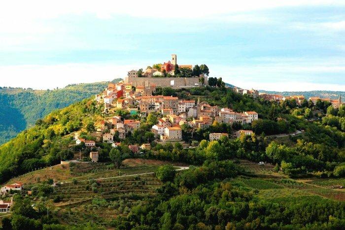 Istrian town of Motovun