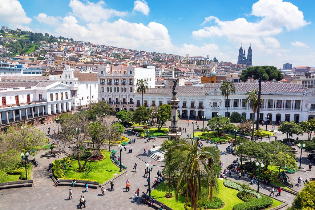 Plaza Grande in Quito