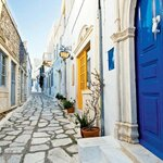 Tinos Streets and Towns Made from Marble