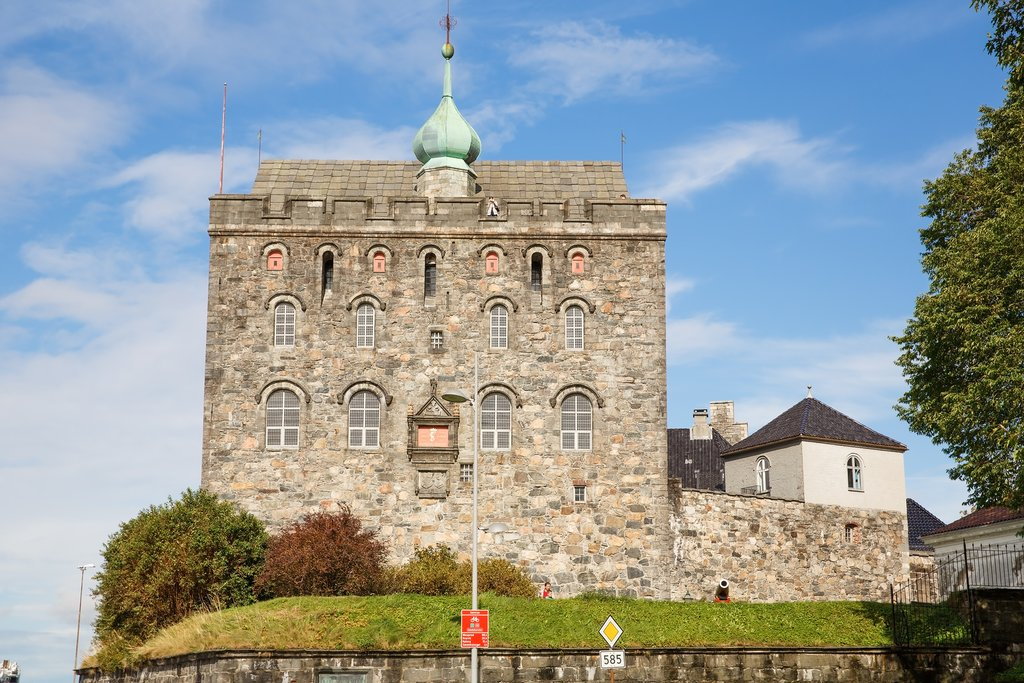 Bergen's historic fortress