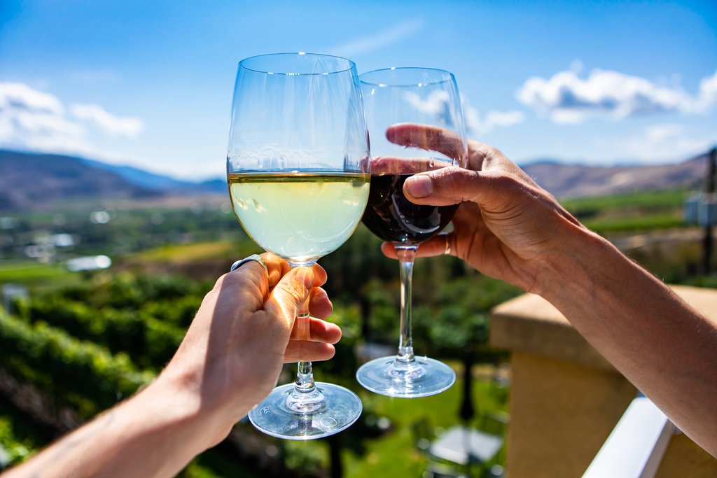 Okanagan Valley is a unknown mecca for Chardonnay, Riesling, sparkling wines, and Pinot Gris.