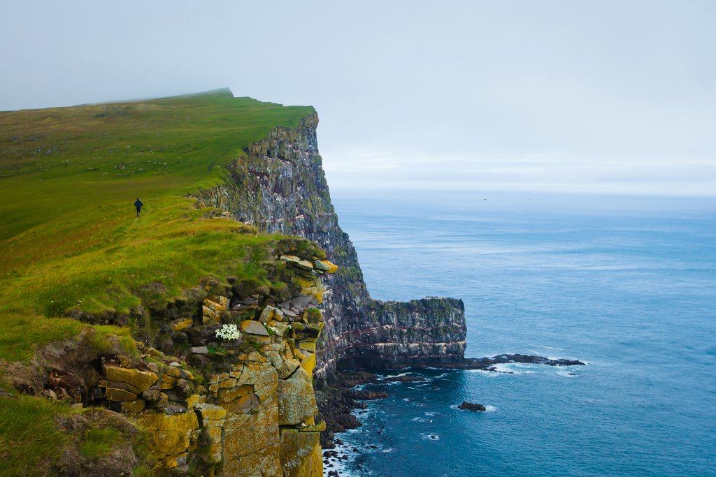 Hike along the Latrabjarg cliffs