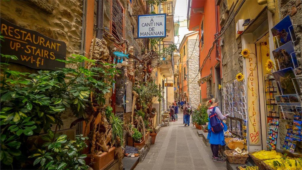 Narrow Alley in Corniglia