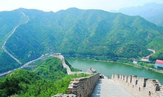 The restored Huanghuacheng Great Wall is a vigorous hike