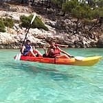 Kayaking the Calanques