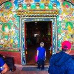 Buddhist artwork in Patan