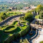 Aerial view of Villa d'Este