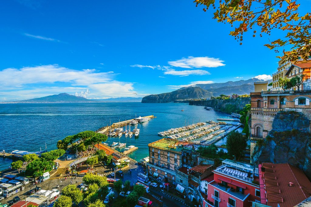 Sorrento's waterfront