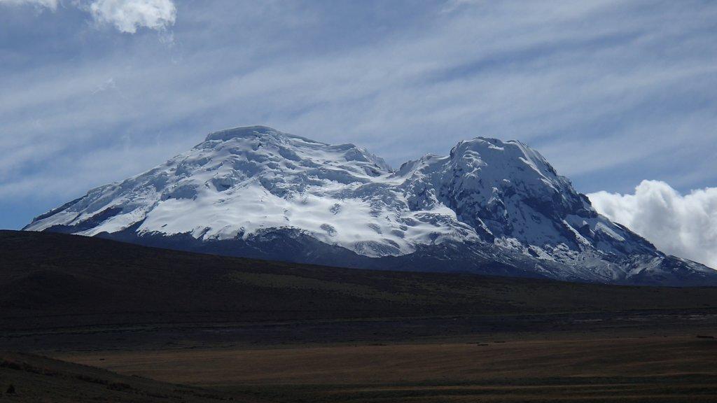Trekking near Antisana
