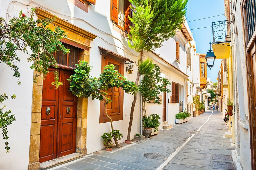 The old streets of Rethymno