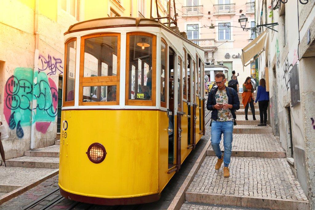 Lisbon's Famous Streetcars