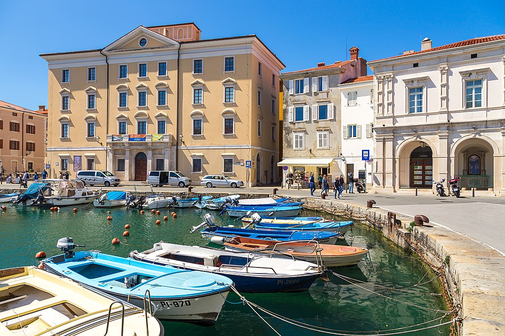 The marina in Piran