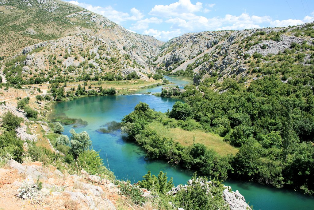 The stunning Zrmanja River