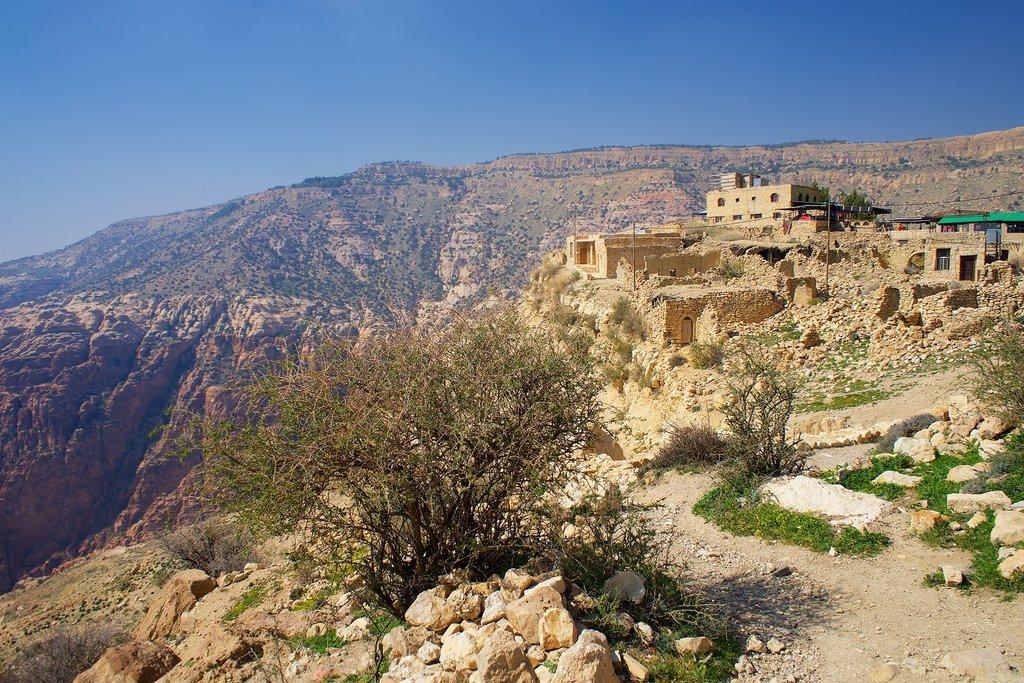 View from Dana Village, Jordan