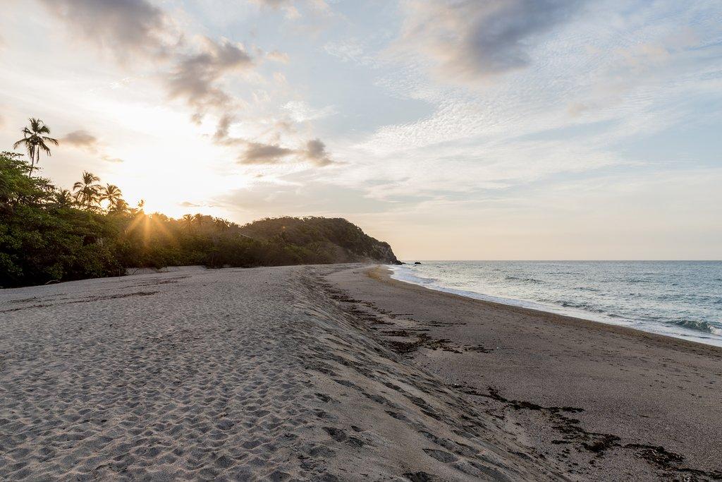 Los Naranjos beach outside of Santa Marta
