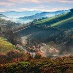 The beautiful countryside near Bologna and Modena.