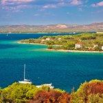 Zlarin Island in the Šibenik archipelago