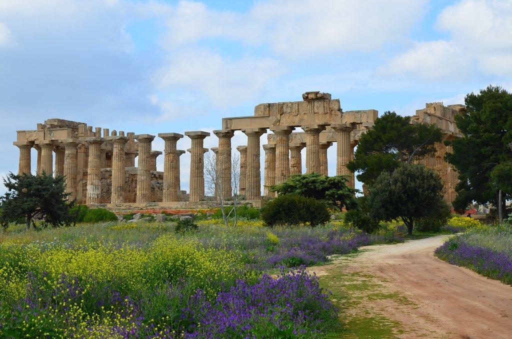 Temple E, Selinunte, Sicily, Italy