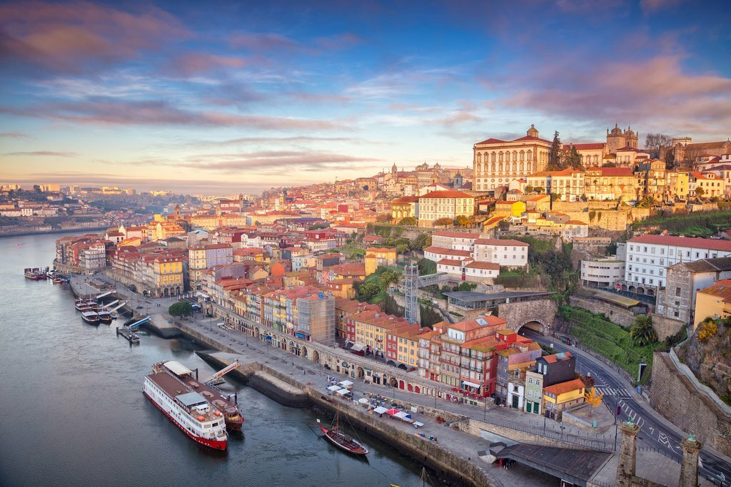 Porto's scenic riverfront