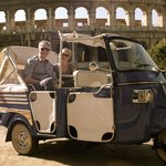 Tour Rome in a Traditional Ape Calessino