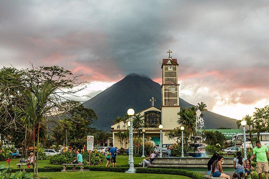 La Fortuna Town