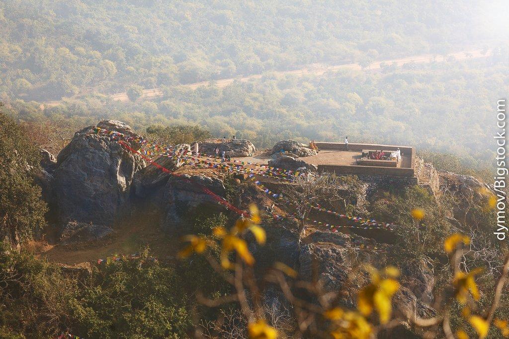 View of the Griddhakuta Peak