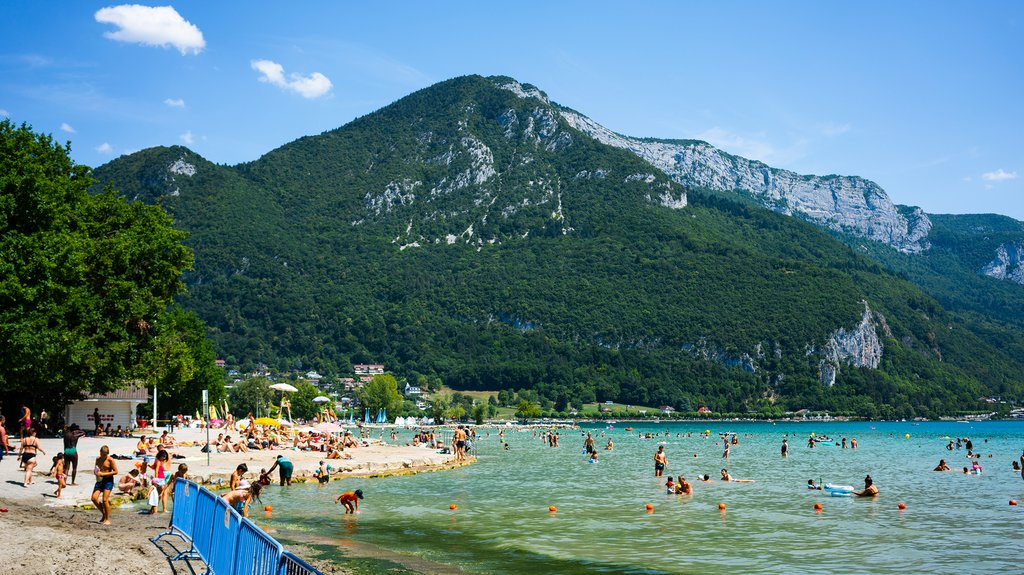 Hit the beach near Annecy