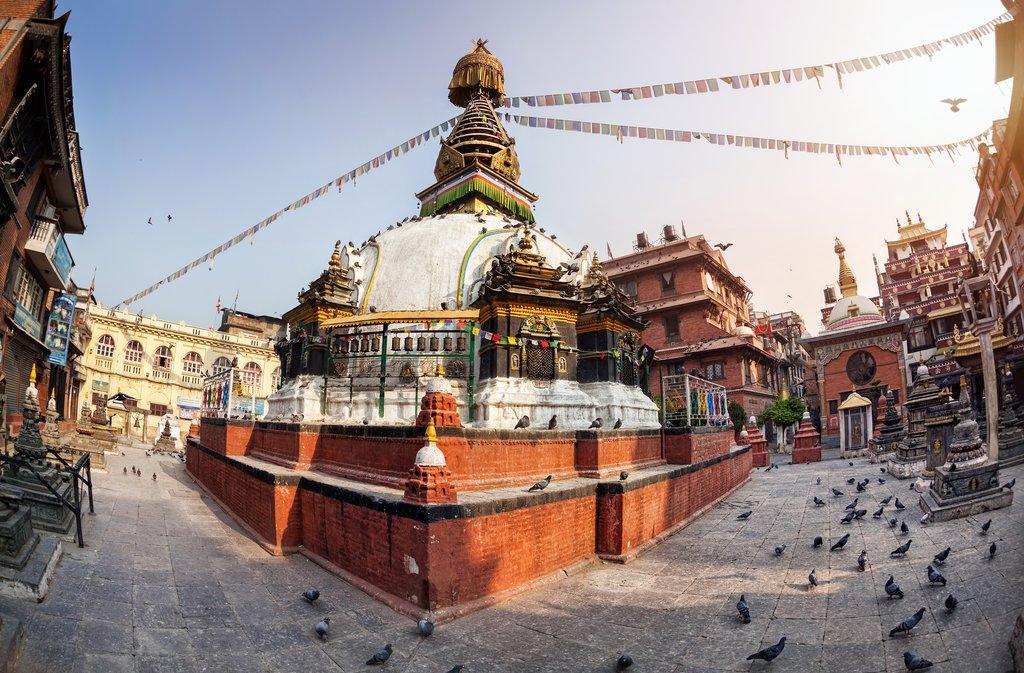 Kathesimbhu Stupa in Thamel