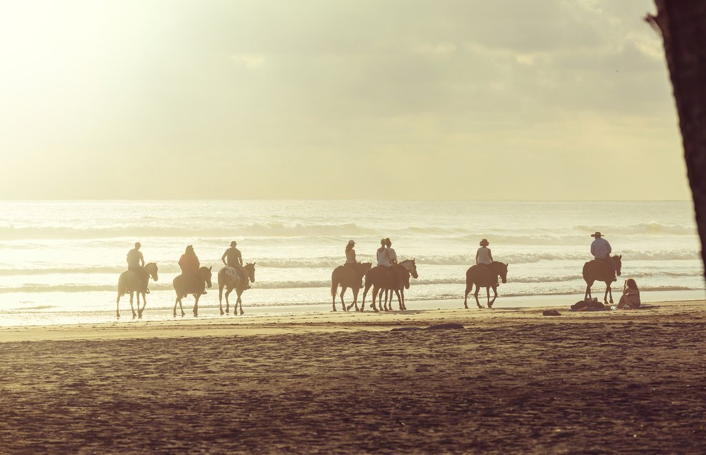 Perhaps go horseback riding on the beach