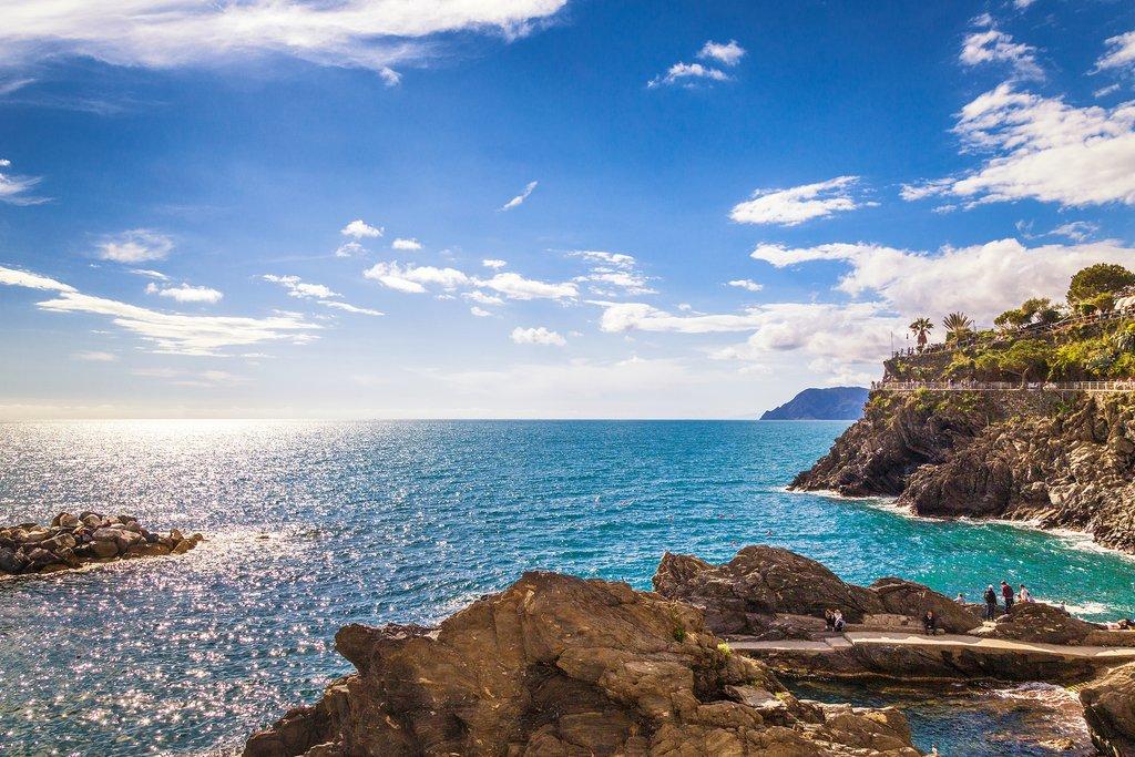 Ligurian Coast near the Cinque Terre