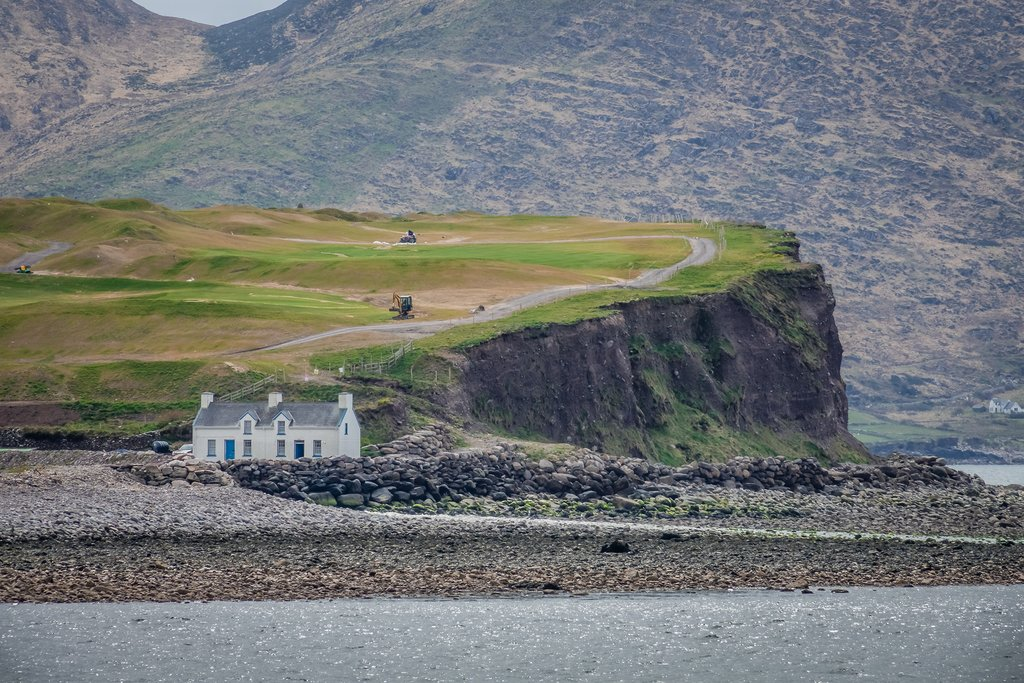 House along the bay