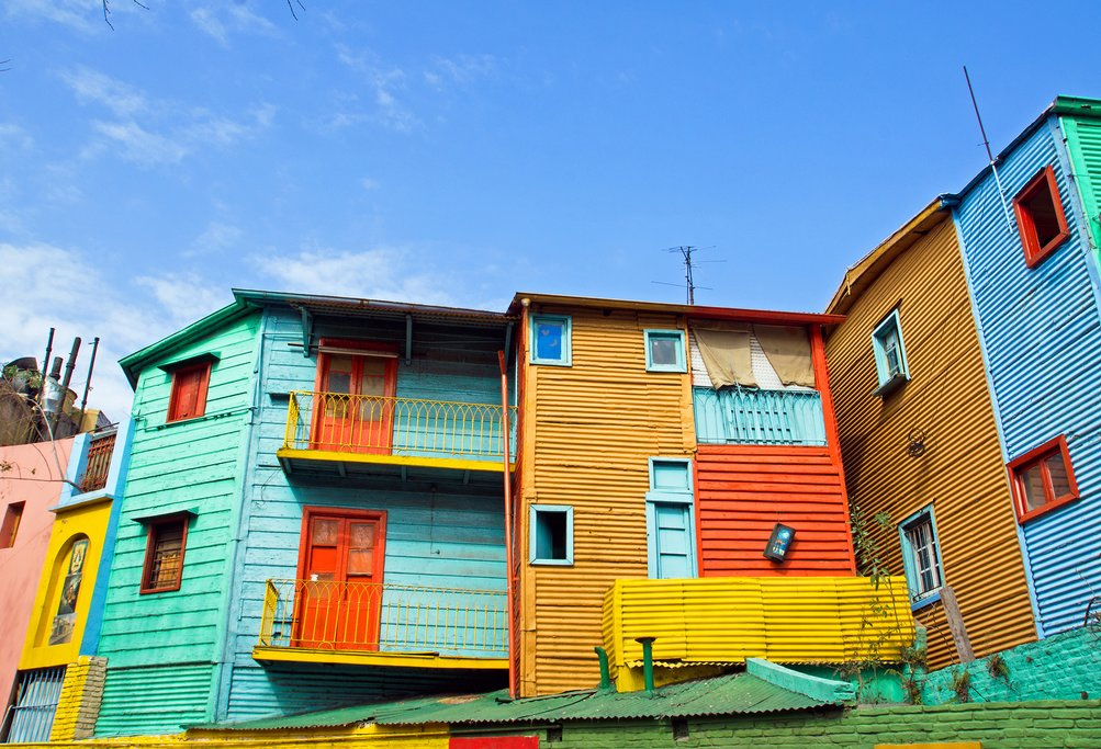 Buenos Aires' colorful La Boca neighborhood