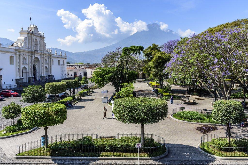 Guatemala - Antigua - San José cathedral