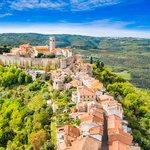 Ancient Hilltop Town of Motovun