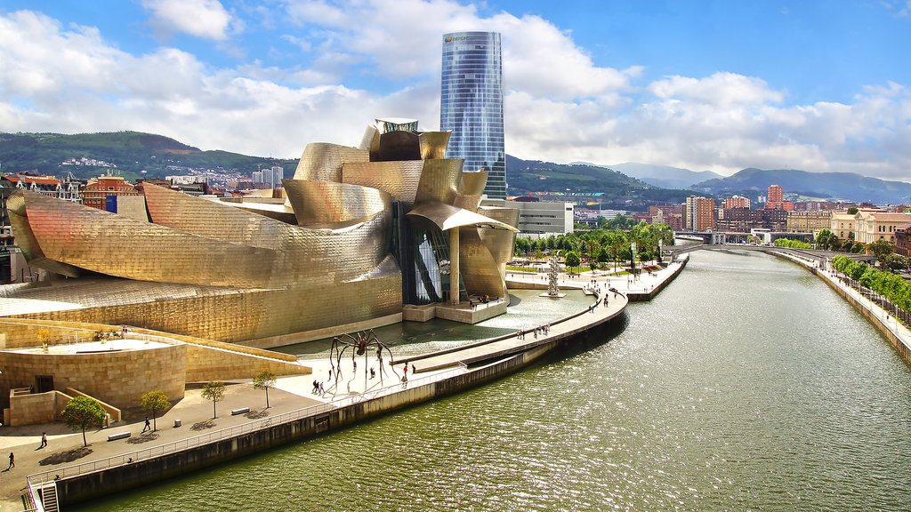 The Guggenheim Museum is the star of Bilbao