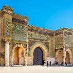 The Bab El-Mansour Gate in Meknes
