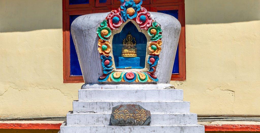 Chorten at a monastery