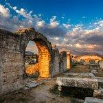 Ancient Roman ruins at Salona
