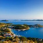 Kornati archipelago view from Zadar