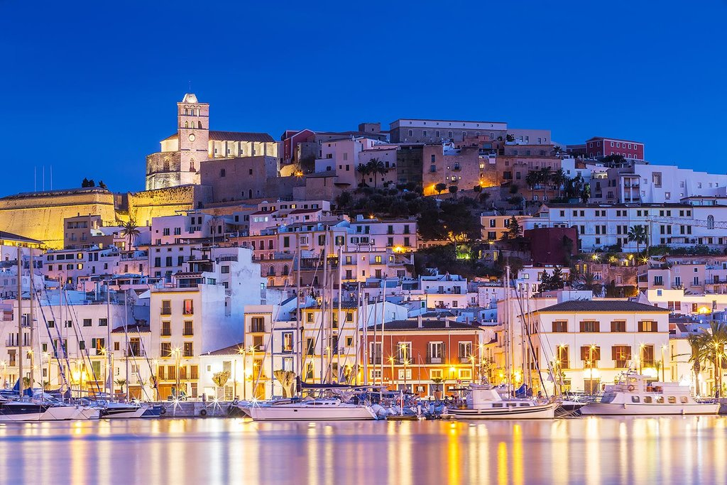 Nightlife of Ibiza Town