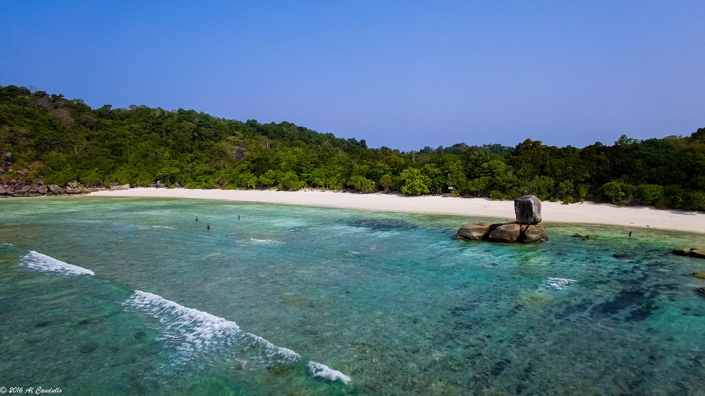 Tropical climate in the Myeik Archipelago