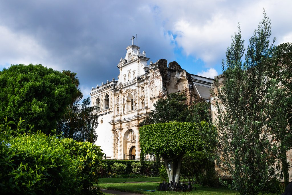 Guatemala - Antigua - Church of San Francisco el Grande