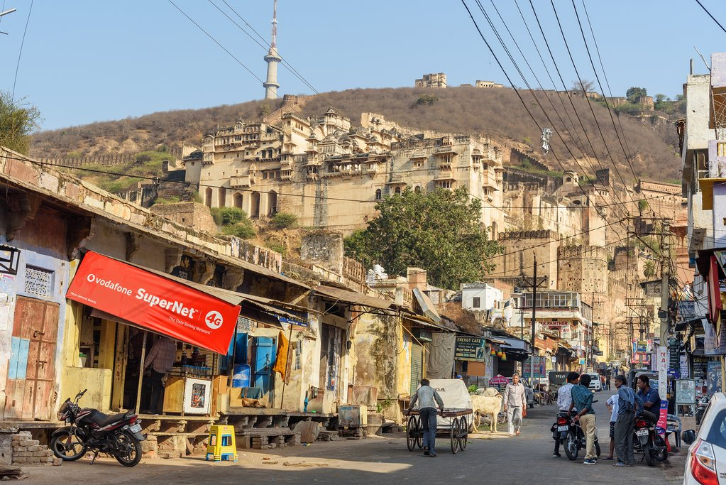 The historic city of Bundi was an independent state until 1947