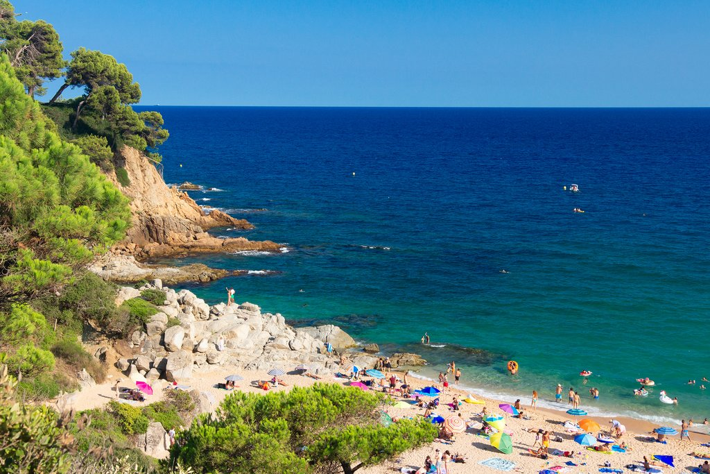 Perhaps take a swim in the village of Lloret de Mar