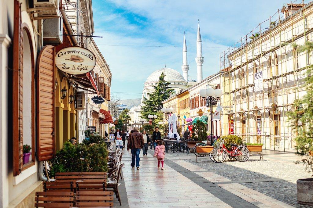Charming Streets of Shkodër, Albania