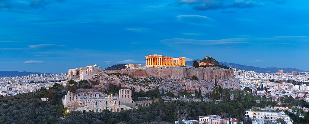The Parthenon can be spotted all over the city