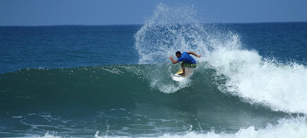There's more surfing opportunities south of Tamarindo