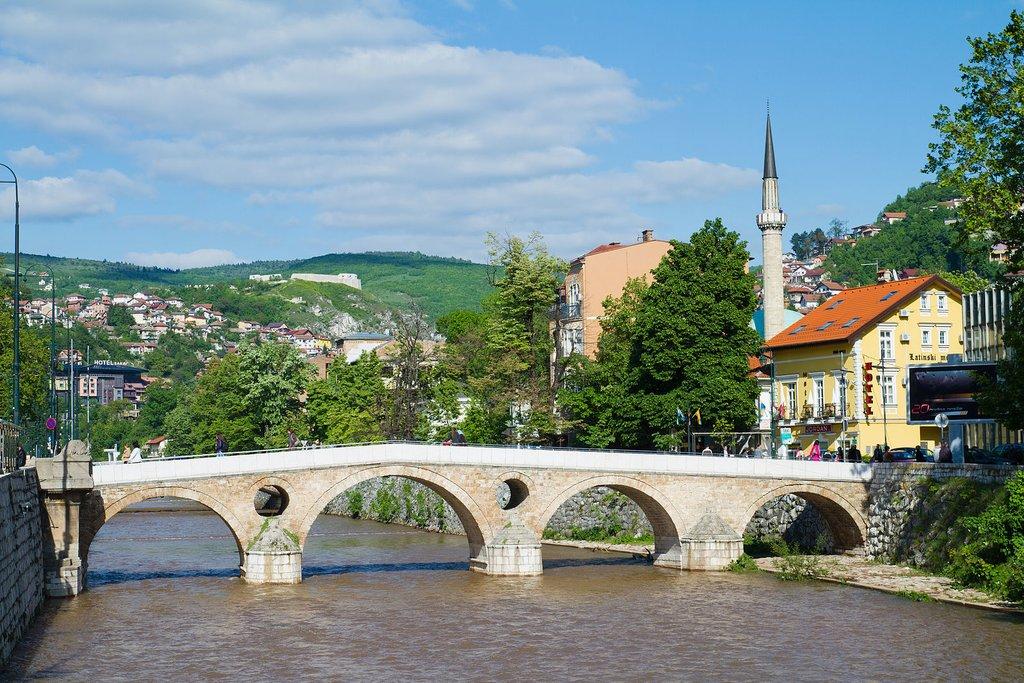 The Latin Bridge in Sarajevo (c) Tuomas Luukkonen
