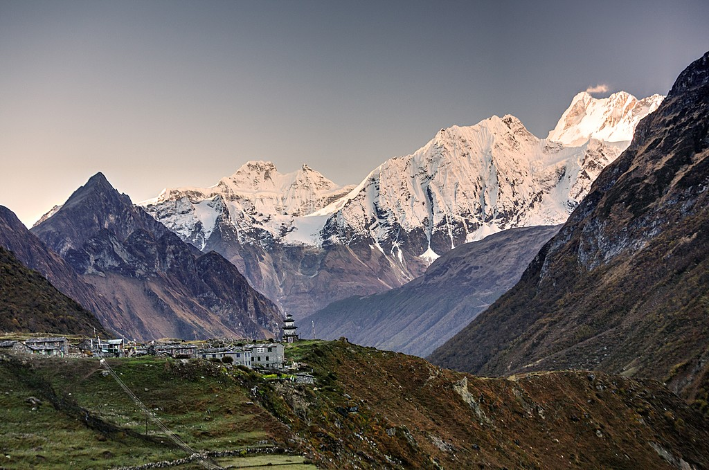 Views along the Manaslu Circuit trek